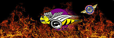 """Enlarge Rumble Bee DODGE """"Truck Rear Window Graphic"""" Free add Text, LOGO..."""