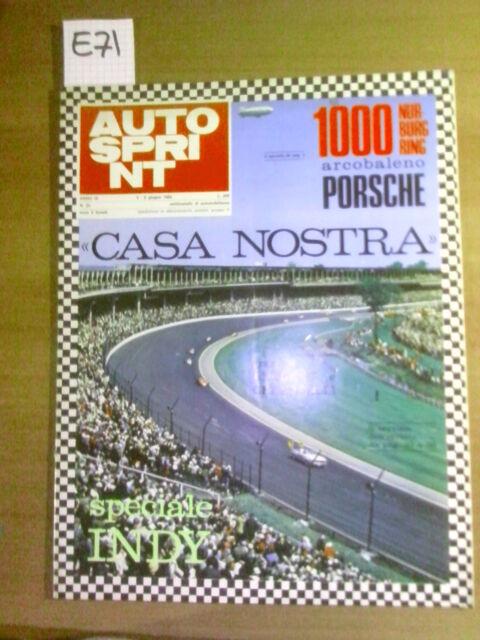 """AUTOSPRINT: """"CASA NOSTRA"""" - 3-9 GIUGNO 1969"""