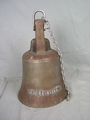 The Bronze Ships Bell From The Ferry Tor Hollandia 1967