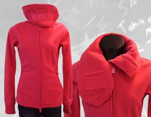 BENCH  Fleece Jacke FUNNEL NECK  pink  Gr S, M, L, XL
