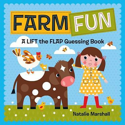 """AS NEW"" Farm Fun! Lift the Flap, Natalie Marshall, Book"