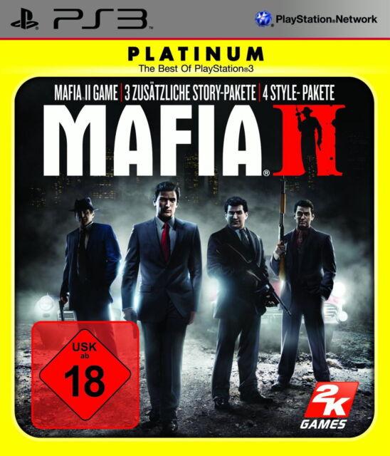 Mafia II -- Platinum (Sony PlayStation 3, 2011)