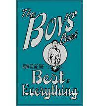 """AS NEW"" Dominique Enright, Guy Macdonald, The Boys' Book: How to be the Best at"
