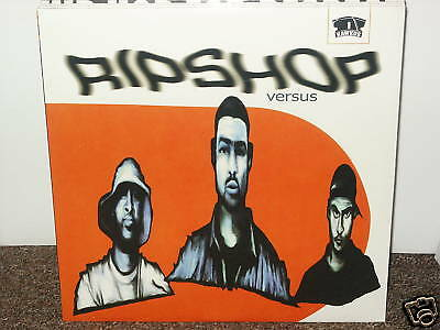 "RIPSHOP / VERSUS 12"" OG US 1999 SEALED HIP HOP VINYL RAWKUS RIP SHOP CRABFAKERS"