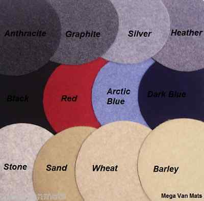 5m x 2m Veltrim & Trim Velour Camper Carpet Lining & 5 High Temperature Adhesive