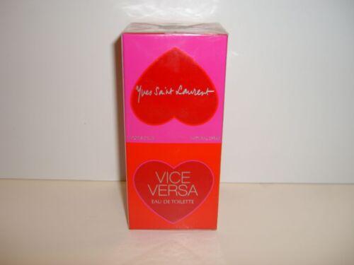Yves Saint Laurent Vice Versa Perfume Eau De Toilette Spray 3.3 oz NIB