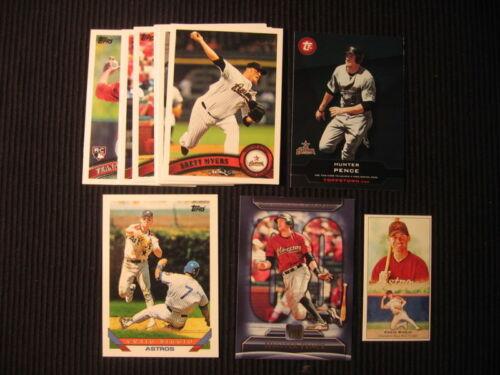 2011 TOPPS #2 HOUSTON ASTROS SP TEAM SET 14 CARDS