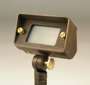 Low Voltage Wall Wash Lights : SOLID BRASS LOW VOLTAGE LANDSCAPE WALL WASH LIGHT 20W 12V eBay