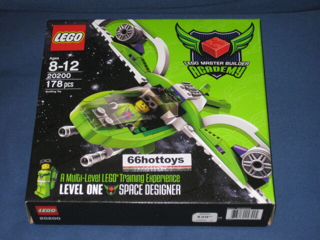 Lego 20200 Master Builder Academy Space Design Set NEW