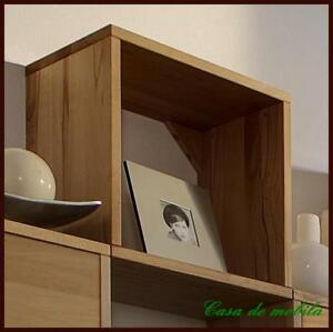 massivholz stufenregal buche h nge cd regal cube w rfelregal regale holz massiv ebay. Black Bedroom Furniture Sets. Home Design Ideas