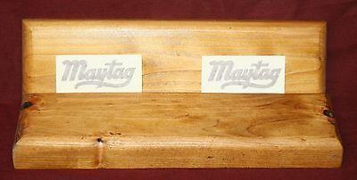 Maytag Model 92 72 82 Gas Engine Motor Wood Skids Frame Decal Frame