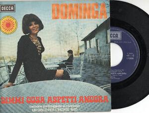 DOMINGA-disco-45-g-ITALY-Dimmi-cosa-aspetti-ancora-Cieli-azzurri-sul-tuo-viso