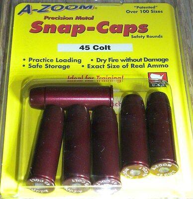 16124 A-Zoom Precision Metal Snap Caps, * 45 Colt  # 16124  6 per Package new !