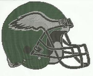 PHILADELPHIA-EAGLES-HELMET-PLASTIC-CANVAS-PATTERN