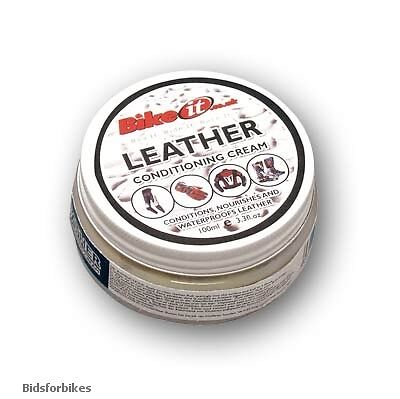 MOTORCYCLE LEATHER CONDITIONING CREAM KIT CARE - 100ml