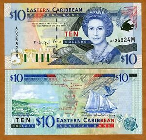 Eastern-East-Caribbean-10-2000-Montserrat-P-38m-UNC