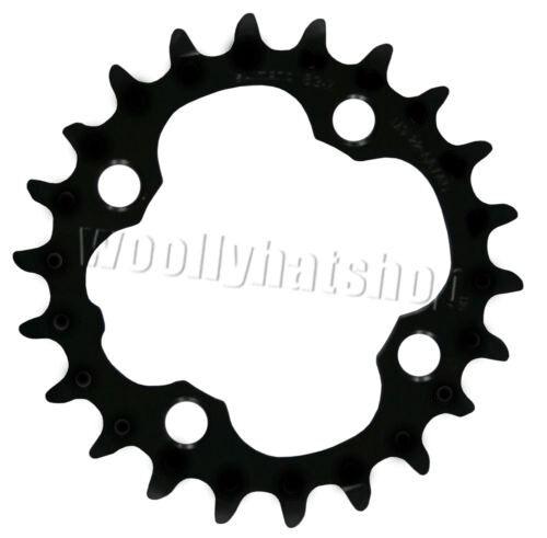 Shimano Deore FCM590 22 T intérieur noir 4 bras chainring