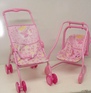 sale new 5 in 1 baby doll stroller car seat baby doll. Black Bedroom Furniture Sets. Home Design Ideas