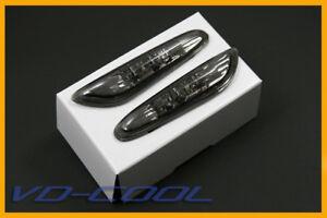 BMW-E90-E91-E92-SMOKE-SIDE-MARKER-LIGHTS-LAMPS-LED-COLOR-AMBER