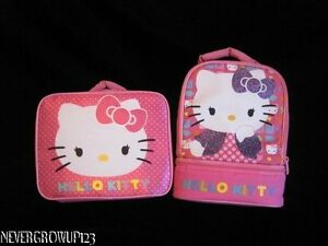 GIRLS-HELLO-KITTY-INSULATED-LUNCHBOX-NWT