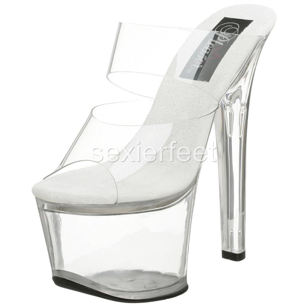 Pleaser Sexy Stripper Stripper Stripper Platform Sandals Sky-302 Sky-309 4f1701