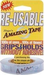 "Hugo's Amazing Tape 1/2"" x 50 feet - Great Thread Saver"