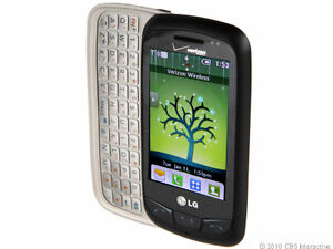 lg cosmos touch vn270 black verizon cellular phone ebay rh ebay com LG Cosmos Sim Card Removal LG VN270 Cosmos Touch Review