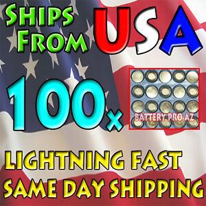 100-Bulk-Package-LR44-AG13-LR1154-A76-357-303-SR44-1-5-Volt-Battery-Batteries