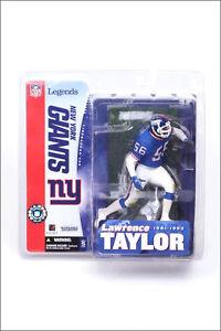 McFarlane NFL Legends 1 LAWRENCE TAYLOR figure~NY Giants~LT~Hall of Fame~MIB