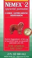 Pfizer-Nemex-II-Dog-Puppy-Wormer-Pyrantel-Pamoate-2-oz-Bottle