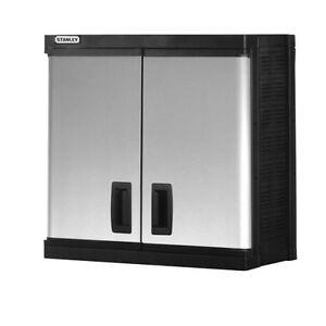Stanley Garage Storage Wall Cabinet Large Utility Unit Ebay