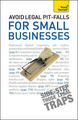 Solicitors, Bevans, Avoid Legal Pitfalls for Small Businesses: An essential refe