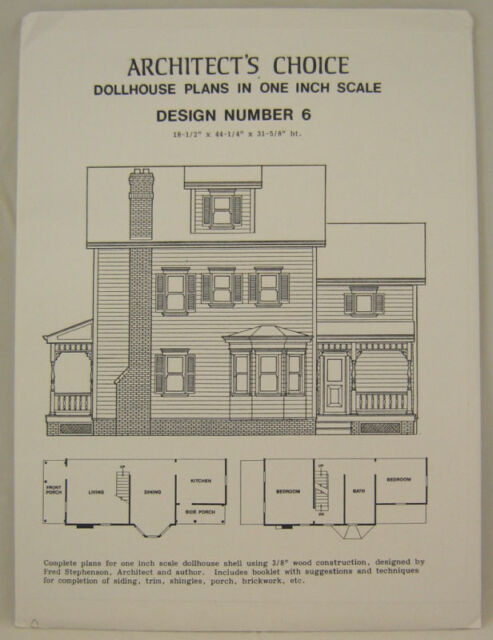 Dollhouse Plans collection on eBay