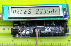 NEW! ARDUINO 12 DIGIT 7 SEG SERIAL  LCD Display MODULE with example SKETCH!