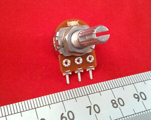Single-Gang-16mm-Mono-Mixer-Pot-Linear-Track-Variable-Resistor-T18-Splined-ff