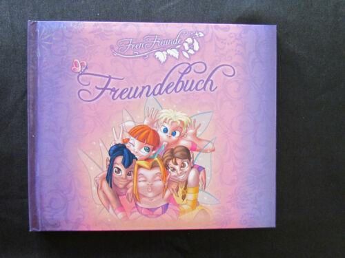 Freundebuch Freundschaftsbuch Schreibmappe Briefblock Feen-Freunde