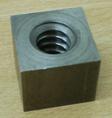 x1pce Square 16x4 Trapezoidal Steel Nut VKM16x4G CNC or Custom 3d Printer