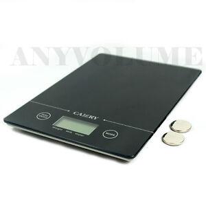 EK9150-Glass-Slim-Digital-Kitchen-Scale-11-lbs-x-0-1oz-Food-Postal-5kg-x-1g