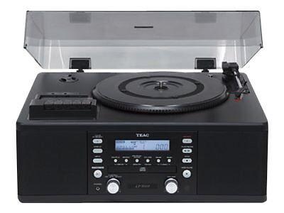Teac LP-R500 Plattenspieler (CD-Player, FM-Tuner) schwarz  NEU!