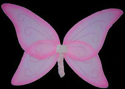 PINK ADULT TINKERBELL WING~*~ANGEL FAIRY DRESS UP