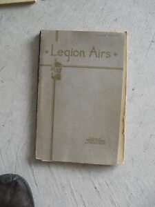 1932-Song-Book-Legion-Airs-by-Frank-E-Peat
