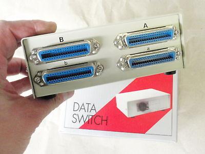Modems, Splitter & Switches Intelligent Data-switch X-umschalter 4x 36pol Centronix 16055