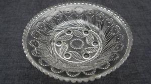 1830s-EAPG-Flint-Peacock-Eye-Boston-Sandwch-Honey-Dish