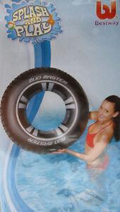 Bestway-Mud-Master-Reifen-XL-Schwimmreifen-Schwimmring-Pool-Meer-Strand-P