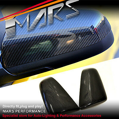 Real Carbon Fibre Mirror Cover for Holden Commodore VE SSV SV6 SS and OMEGA