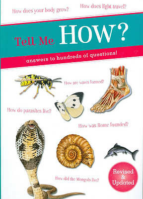 """""""AS NEW"""" Octopus Books, Tell Me How? (Tell Me Series) Book"""