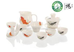 Fish-Porcelain-Tea-Set-Gaiwan-pitcher-strainer-cup