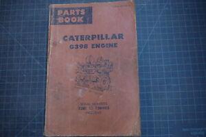 CAT-Caterpillar-G398-Engine-Parts-Manual-Book-Catalog-spare-list-shop-overhaul