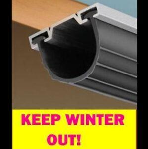 Universal garage door bottom t weather seal 18 39 ebay for 18 garage door bottom seal