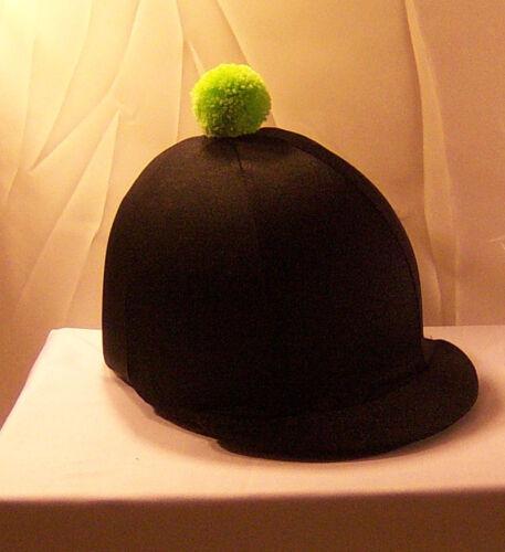 Chapeau Équitation Couverture-Noir